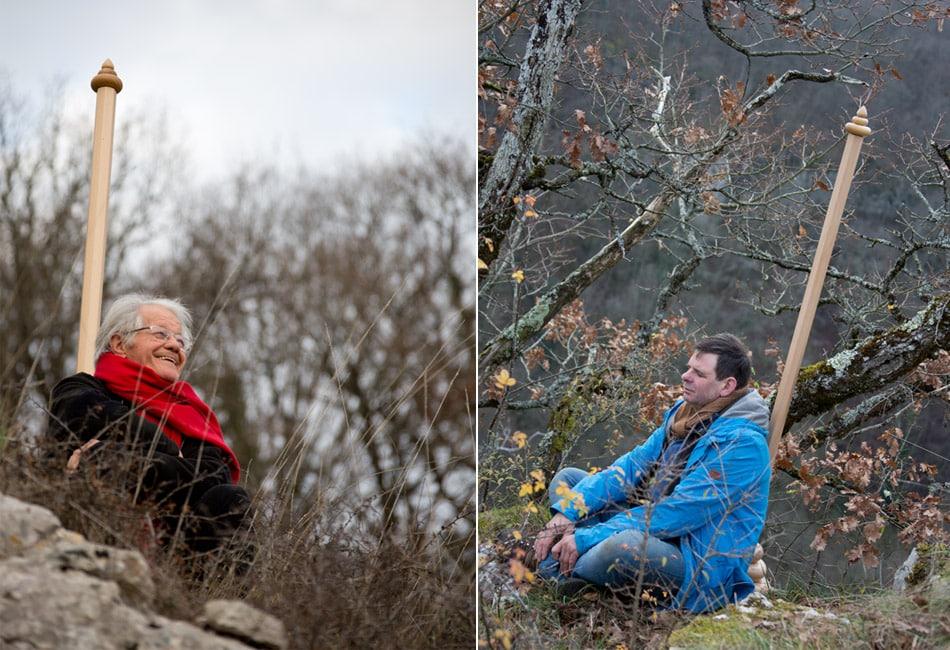 Bois relié - Dominique Bridel ou l'essence de l'arbre spiritualisée © armellephotographe.com