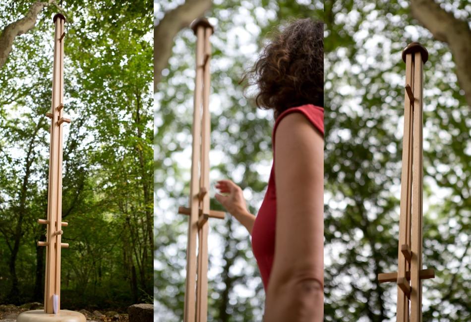 Le sensible des fragiles - Dominique Bridel - Bois relié armelle photographe