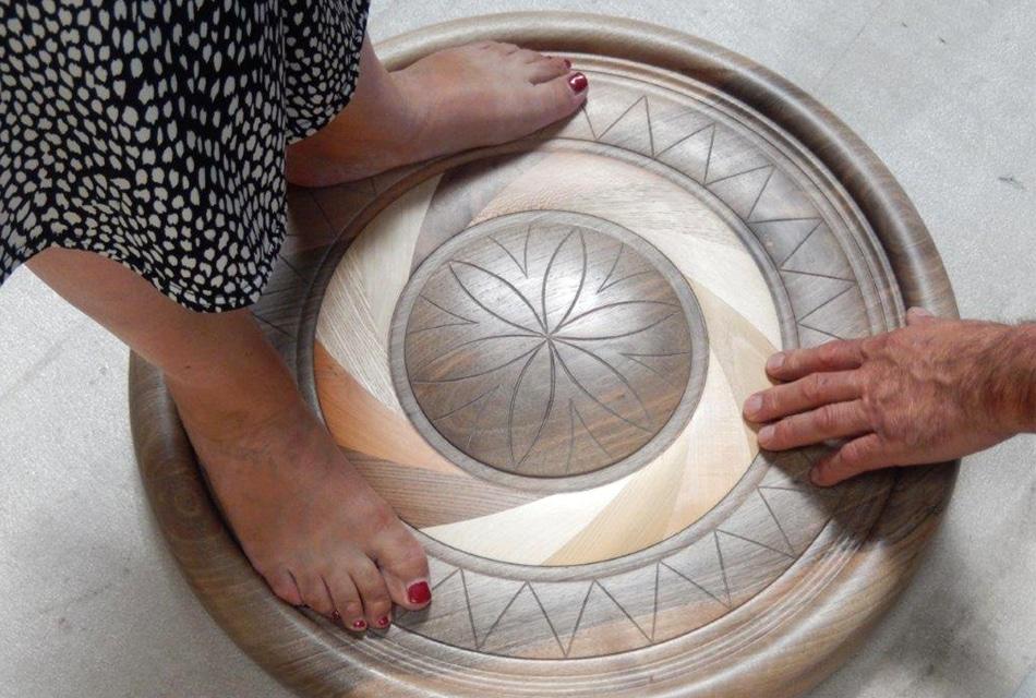 Mandala de la Vie - Dominique Bridel - Bois relié