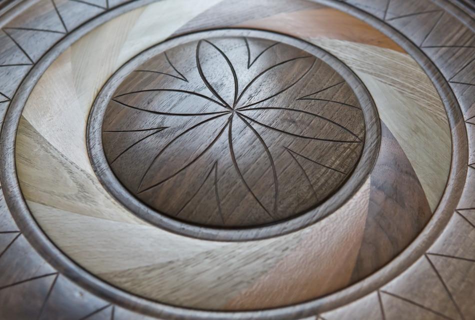 Mandala de la Vie - Dominique Bridel - Bois relié - Armelle photographe