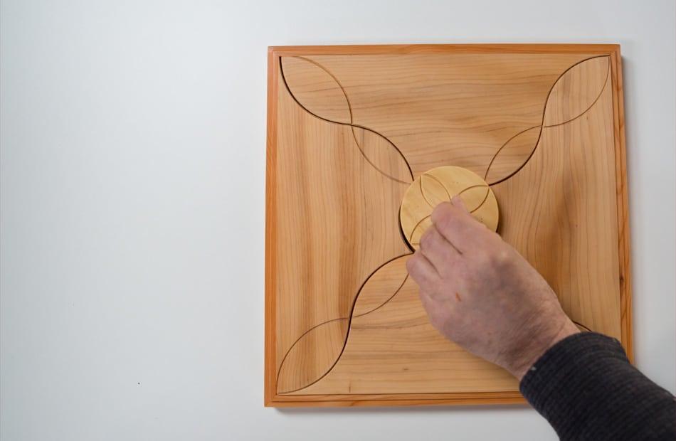 Bois relié - Dominique Bridel - Objets de guérison et d'évolution intérieure - l'essence de l'arbre spiritualisée © armellephotographe.com
