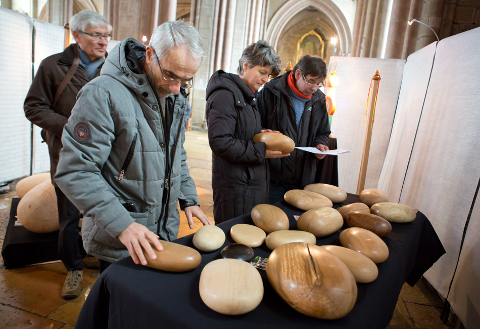 Dominique Bridel - Bois Relié - Exposition à St-Michel, Dijon